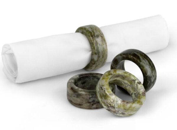 Marble Napkin Rings