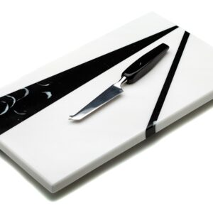 MARMAR NERO CHEESE BOARD & KNIFE SET